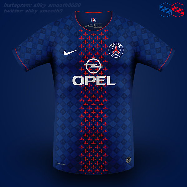 PSG Nike @silky_smooth0
