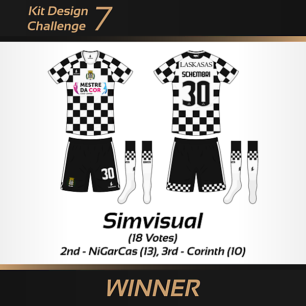 WINNER - Kit Design Challenge 7 - Boavista FC