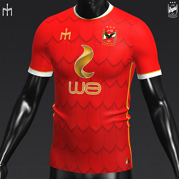 Al-Ahly Sporting Club X TRIDENTE | Home kit | KOTW