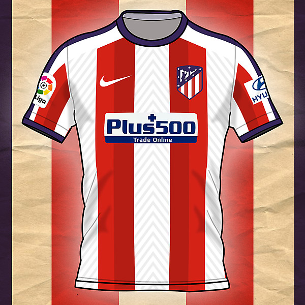 Atlètico de Madrid Home Shirt