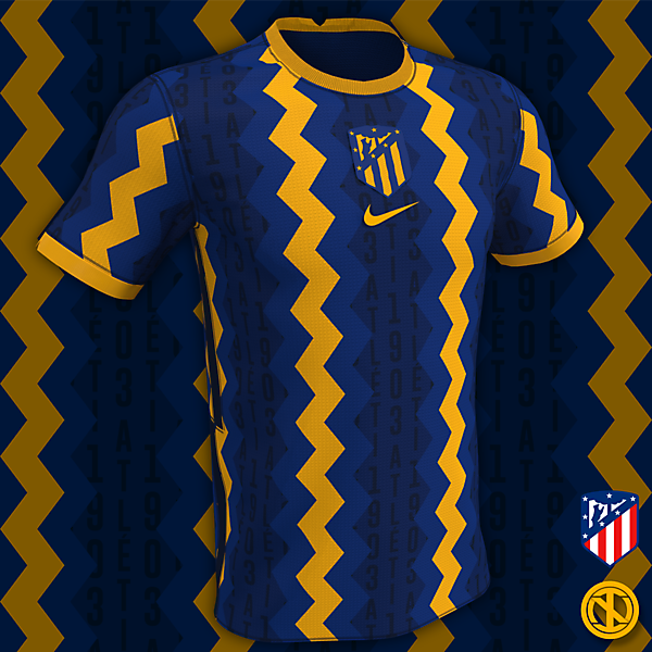 Atlético Madrid | Away Kit Concept