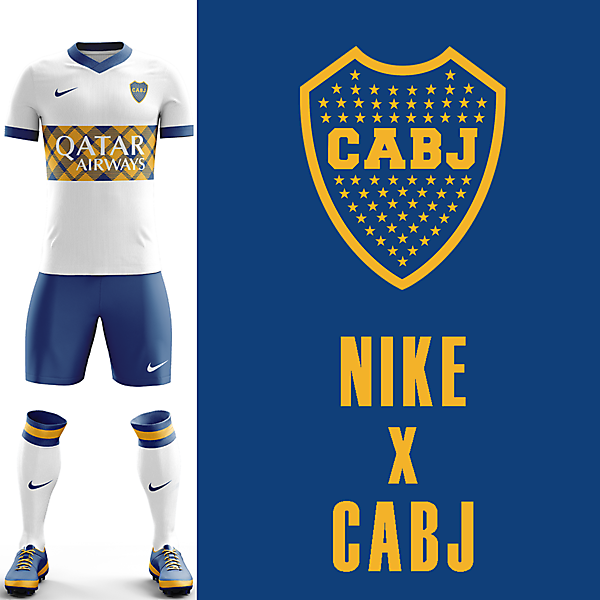 Boca Juniors Nike Away Kit