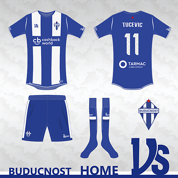 Buducnost Podgorica Home kit