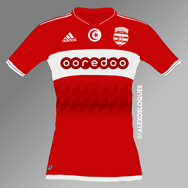 Club Africain FC Home Jersey