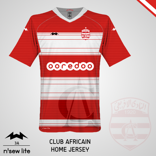 Club Africain Home Jersey - KOTW 54