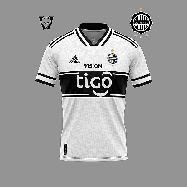 Club Olimpia - home shirt