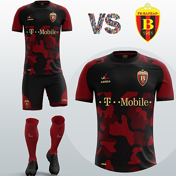 FK Vardar Away kit