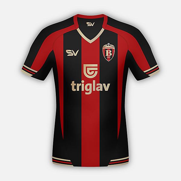 FK Vardar Home Shirt