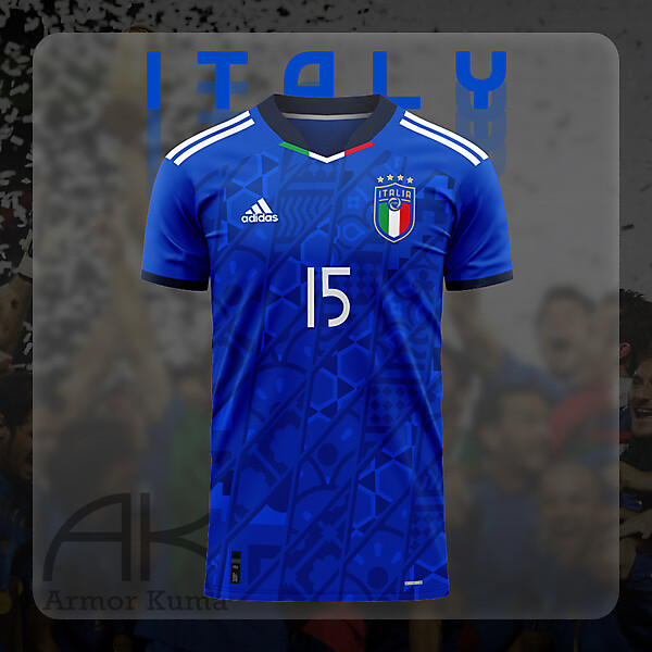 Italy National Team Adidas Home Kit