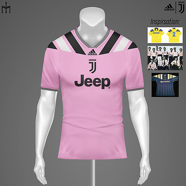 Juventus X Adidas X TRIDENTE | Away kit | KOTW
