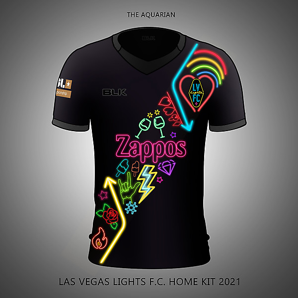 Las Vegas Lights FC Kit Concept