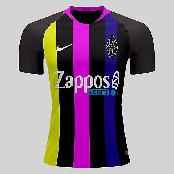 Las Vegas Lights home shirt