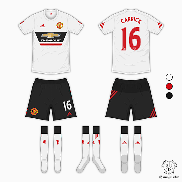 Manchester United Away Kit - Adidas