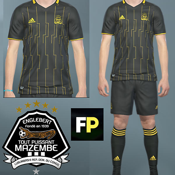 Mazembe Away kit by @feliplayzz