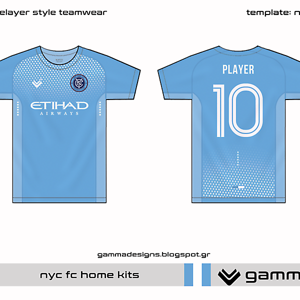 NYCFC home kit