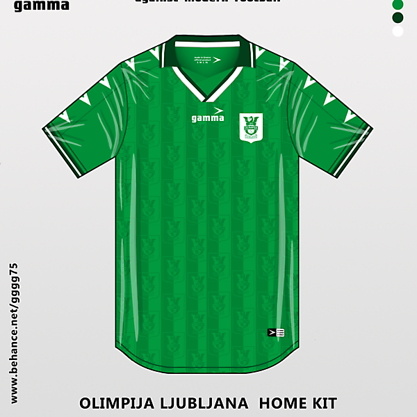 olimpija ljumbljana home kit
