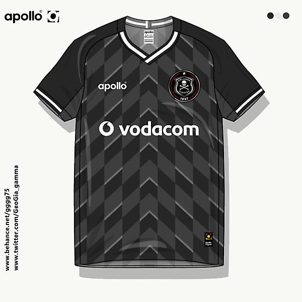 orlando pirates home jersey