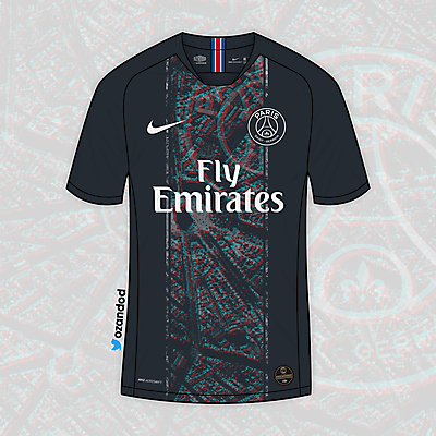 Paris Saint-Germain x Nike | Third @ozandod