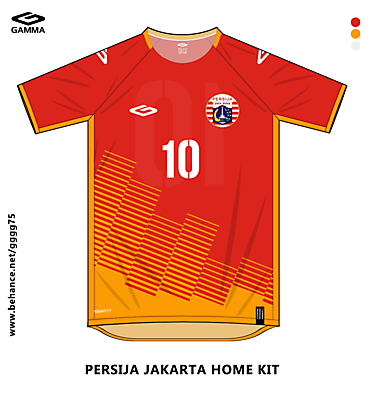 persija home kit