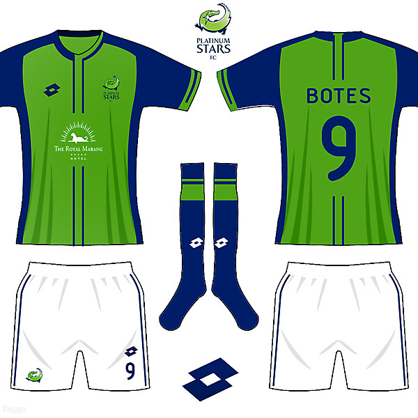 Platinum Stars asymmetric kit