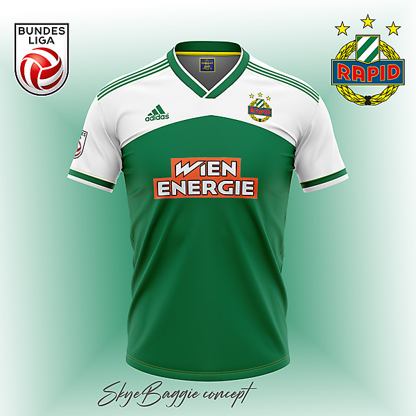 Rapid Wien - Home Kit concept