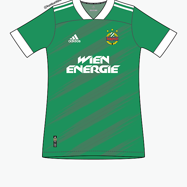 Rapid Wien by @kunkuntoto