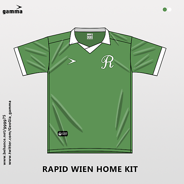rapid wien home kit