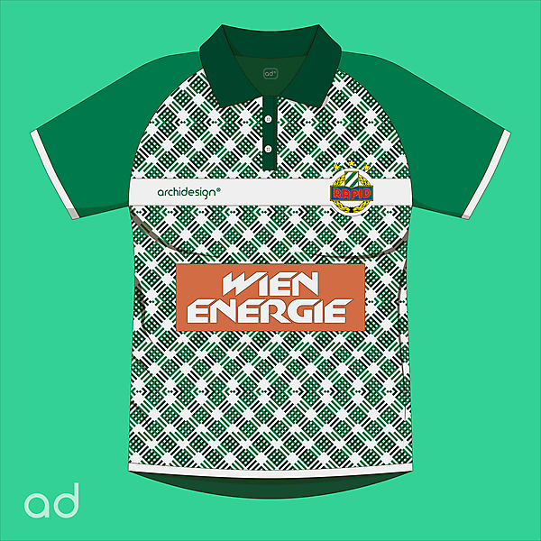 Rapid Wien Home Kit Concept