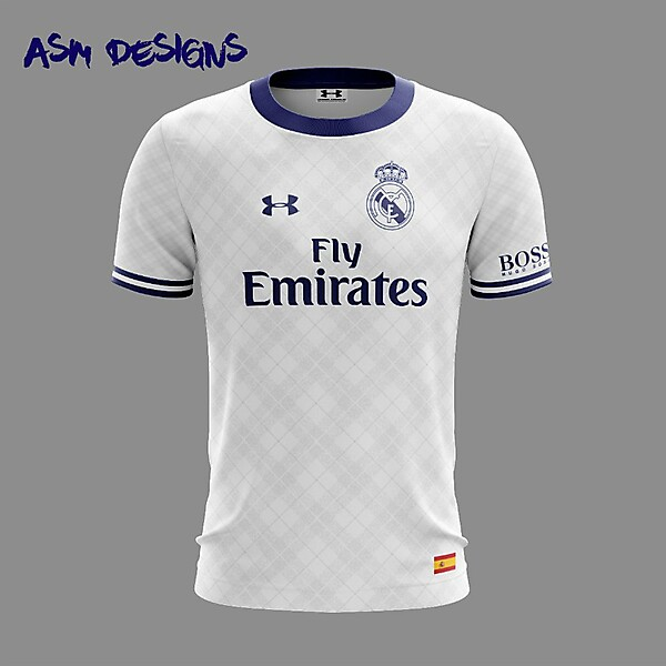 Real Madrid C.F. 2018 Under Armour Home Kit