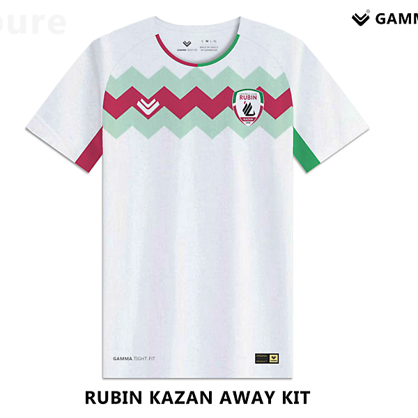 Rubin kazan away kit