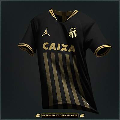 Santos FC x Jordan - Away Kit