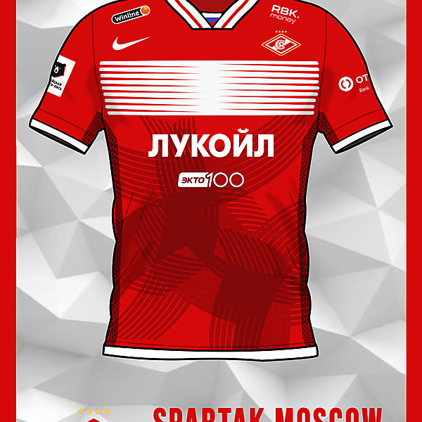 Spartak Moscow Home Shirt