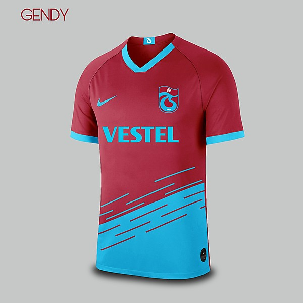 Trabzonspor - Nike Home Kit