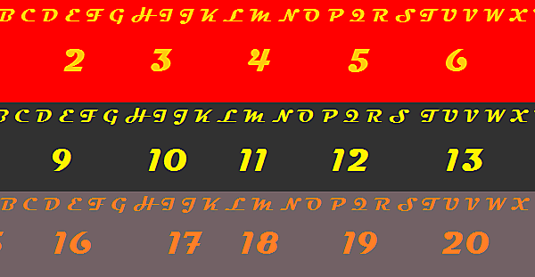 Liverpool Name & Number Font Competition (closed)