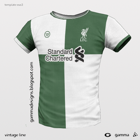 liverpool 3rd kit by warrior