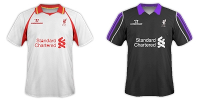 Liverpool Warrior Away & 3rd Kit