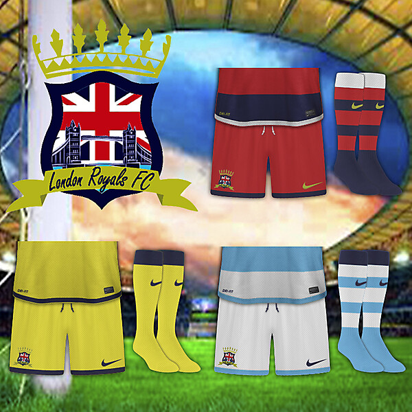 London Royals FC Shorts and Sock