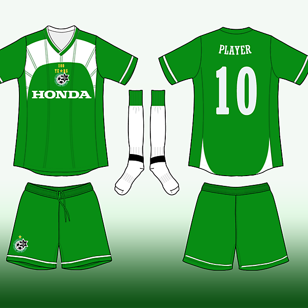 maccabi haifa 100 years celebrative kit