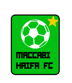 maccabi badge and home kit