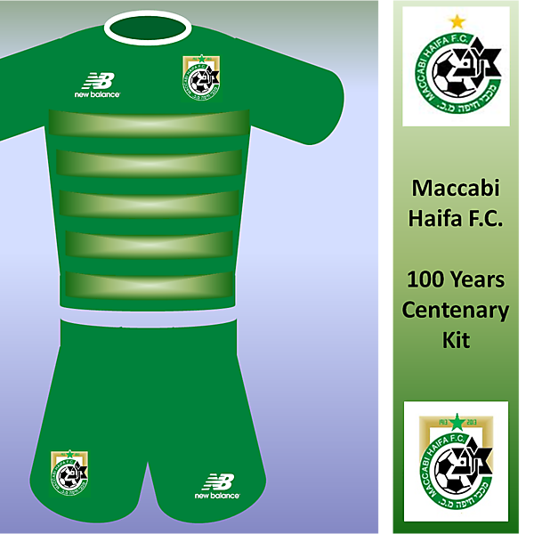 Maccabi Haifa 100th Kit (New Balance)