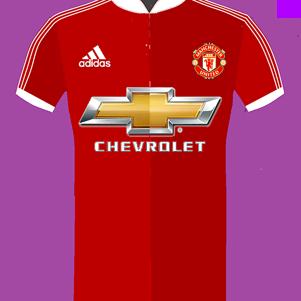 Manchester United + Adidas home