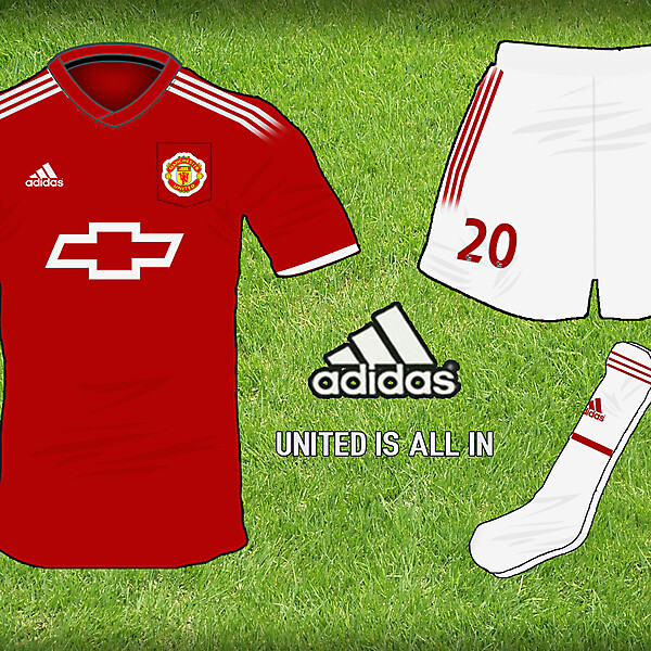 Manchester United Adidas Home Kit