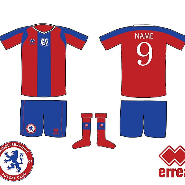Middlesbrough Futsal Kit 2