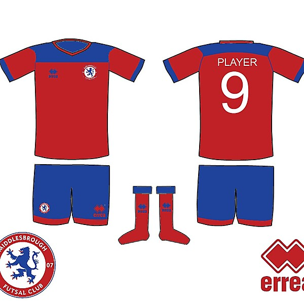 Middlesbrough Futsal Kit 3