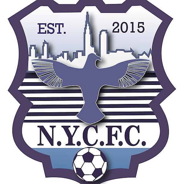 Away kit and logo NYC FC