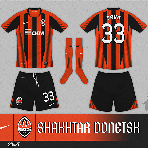Nike Swift Striped - Shakhtar Donetsk