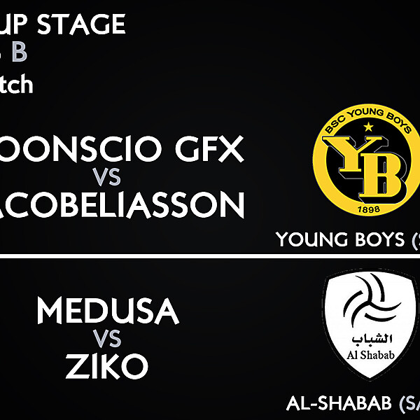 Group B - 1° Match