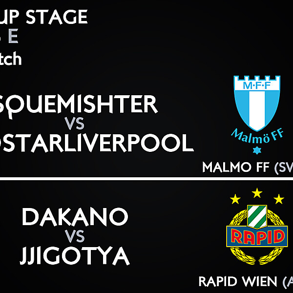 Group E - 3° Match