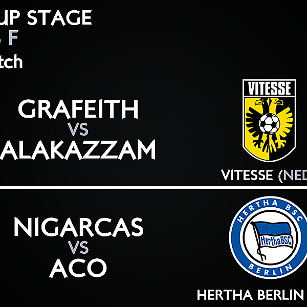 Group F - 3° Match