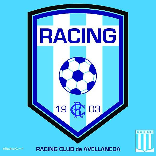 RACING CLUB's redesign logo